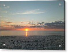 Sundown Acrylic Print by Christopher L Thomley