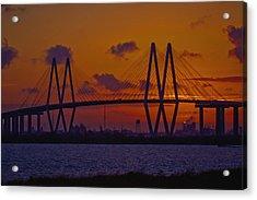 Sundown In Baytown Acrylic Print