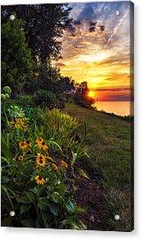 Sundown Acrylic Print by Mark Papke