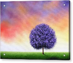 Sundown Acrylic Print by Rachel Bingaman
