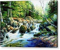 Sunfish Creek Acrylic Print