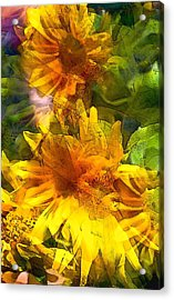 Sunflower 6 Acrylic Print
