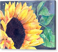 Sunflower Acrylic Print by Arline Wagner