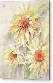 Sunflower Dreams Acrylic Print by Bobbi Price