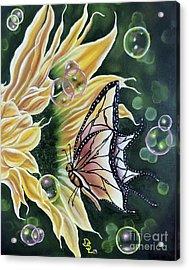 Sunflower Fantasy Acrylic Print