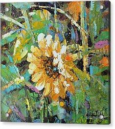 Sunflower I Acrylic Print