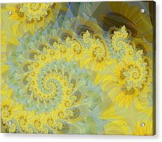 Sunflower Infused Acrylic Print