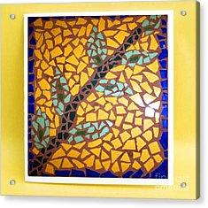 Sunflower Acrylic Print by John Vicic