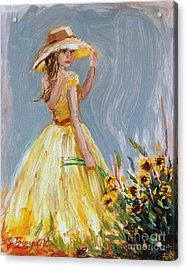 Sunflower Seduction Acrylic Print