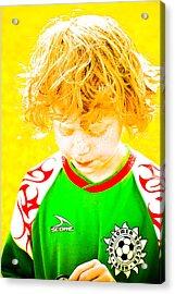 Sunflower Soccer Association Acrylic Print