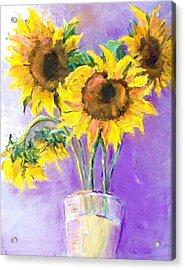 Sunflower Summer Acrylic Print