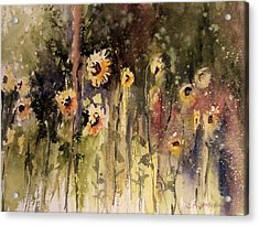 Sunflower Surprise Acrylic Print