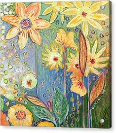 Sunflower Tropics Part 3 Acrylic Print