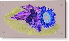 Sunflower Acrylic Print by Vanda Luddy