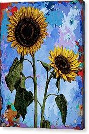 Sunflowers #1 Acrylic Print