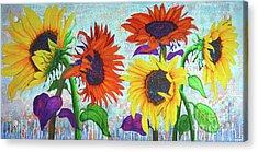 Sunflowers For Elise Acrylic Print