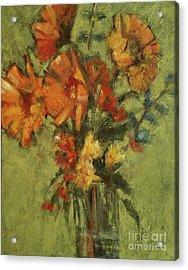 Sunflowers For Sunday Acrylic Print