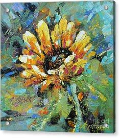 Sunflowers II Acrylic Print