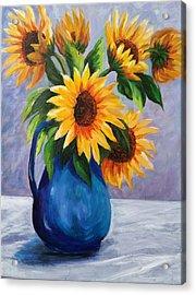 Sunflowers In Bloom Acrylic Print