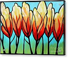 Sunglow  Acrylic Print by Elizabeth Robinette Tyndall