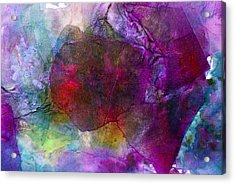 Sunken Ruby Acrylic Print by Don  Wright