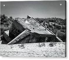 Sunken Acrylic Print by Wim Lanclus