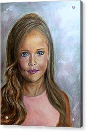 Sunkissed Innocence Acrylic Print