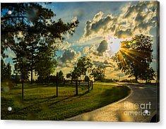 Sunlight Around The Corner Acrylic Print