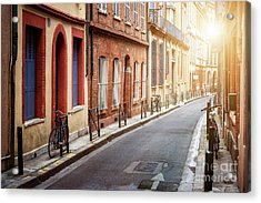 Acrylic Print featuring the photograph Sunlight In Toulouse by Elena Elisseeva