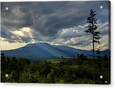 Sunlight On Katahdin Acrylic Print