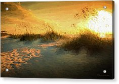 Sunlight On The Dunes Acrylic Print by Marvin Spates