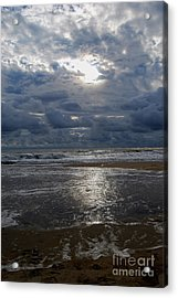 Sunlight Reflected Acrylic Print by Linda Mesibov