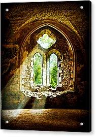 Sunlight Through The Ruins Acrylic Print
