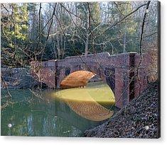 Sunlight Under Bridge Acrylic Print