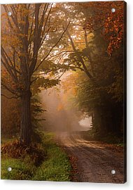 Serenity Of Fall Acrylic Print