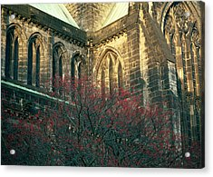 Sunlit Glasgow Cathedral Acrylic Print