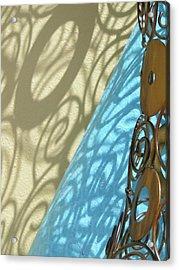 Sunlit In Swirls Acrylic Print