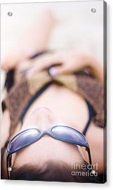 Sunlit Relaxation Acrylic Print by Jorgo Photography - Wall Art Gallery