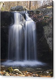 Acrylic Print featuring the photograph Sunlit Streams by Alan Raasch