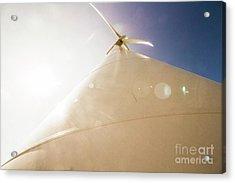 Sunlit Wind Power Acrylic Print