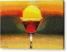 Sunned Wine - Pa Acrylic Print by Leonardo Digenio