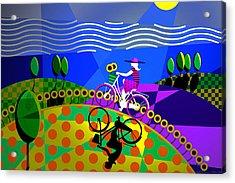 Sunny Acres Acrylic Print