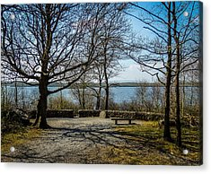 Sunny Afternoon At Lough Coole Acrylic Print