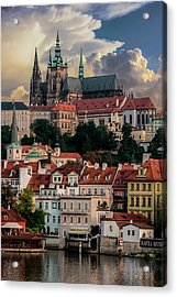 Sunny Afternoon In Prague Acrylic Print