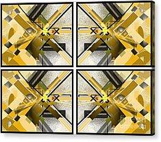 Sunny City X4 Acrylic Print by Jo Baby