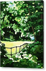 Sunny Clearing Acrylic Print