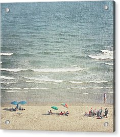 Sunny Day At North Myrtle Beach Acrylic Print