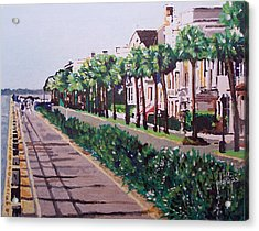 Sunny Day In Charleston Acrylic Print