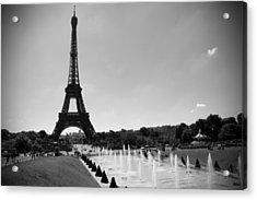 Sunny Day In Paris Acrylic Print by Kamil Swiatek