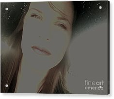 Sunny Disposition Acrylic Print by Amanda Barcon